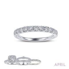 Lafonn Simulated Diamond Ring PLT