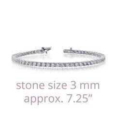 Lafonn 6.27ctw Simulated Diamond Tennis Bracelet
