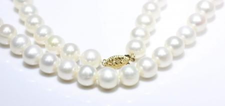 """16"""" Freshwater Pearl Strand 14k Yellow Gold clasp"""