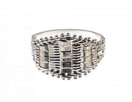 14K White Gold Fashion Ring