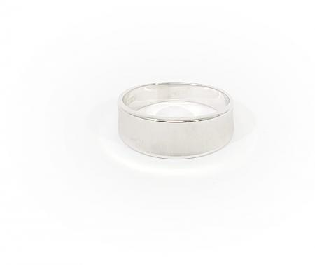 14K White Gold Ladies Wedding Band