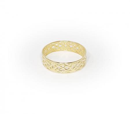 14K Yellow Gold Celtic Ring