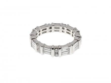 Platinum Diamond Eternity Ring