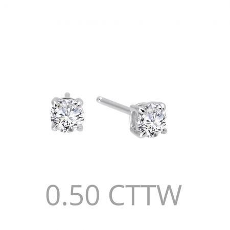 Lafonn .50ctw Simulated Diamond Stud Earring PLT