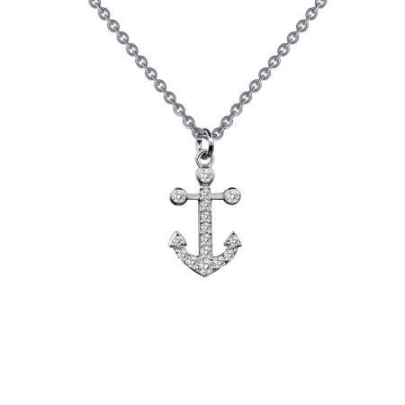 Lafonn Anchor Necklace