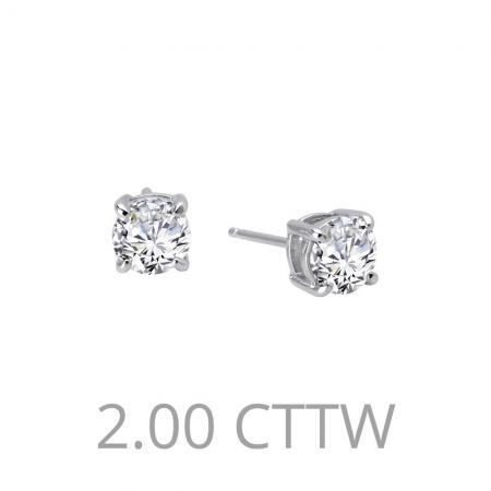 Lafonn 2ctw Simulated Diamond Earrings