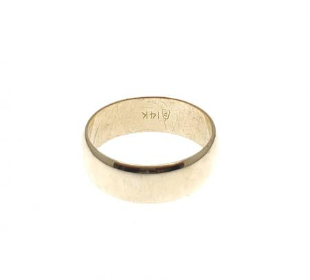 14K Yellow Gold 7.00mm Band