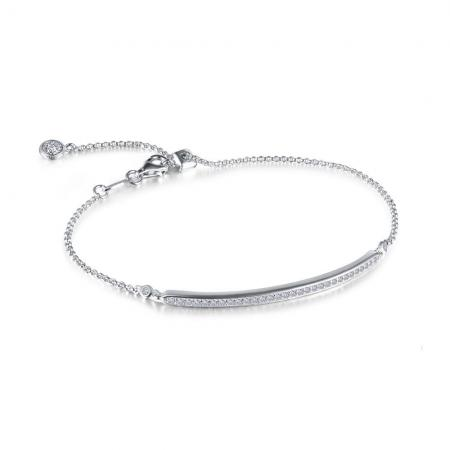 Lafonn adjustable bar bracelet