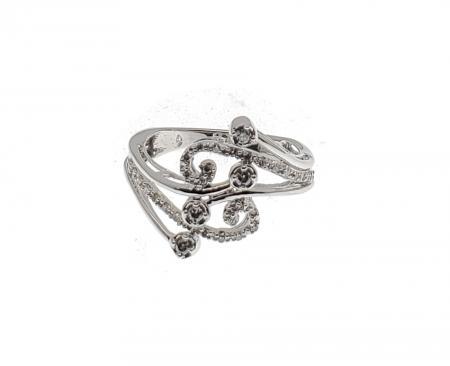 10KWG Diamond Fashion Ring