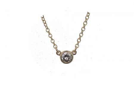Diamond Pendant .38ct