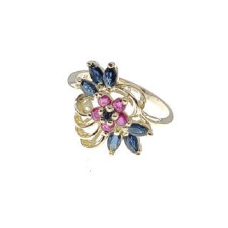 14kyg sapphire and ruby fashion ring (1)