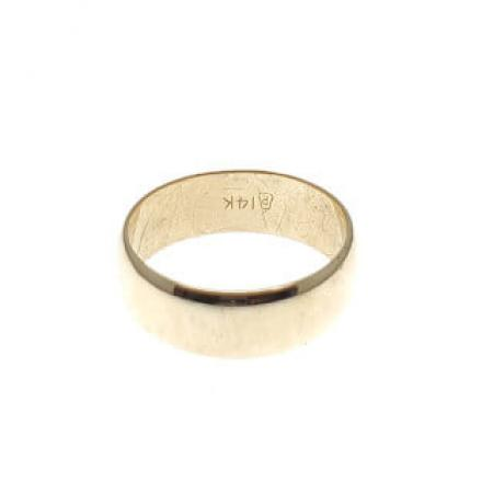 14k yellow gold 7.00mm band (1)