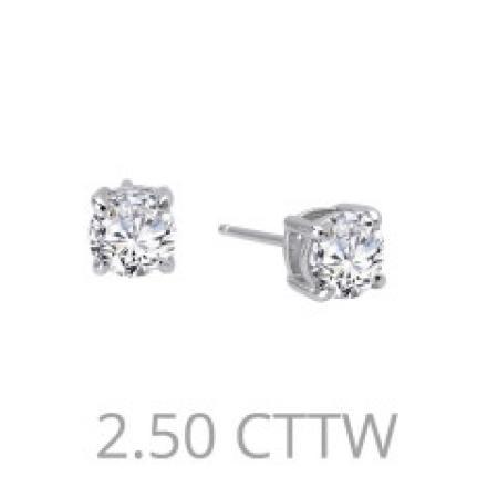 Lafonn 2.50ctw Simulated Diamond Stud Earring PLT