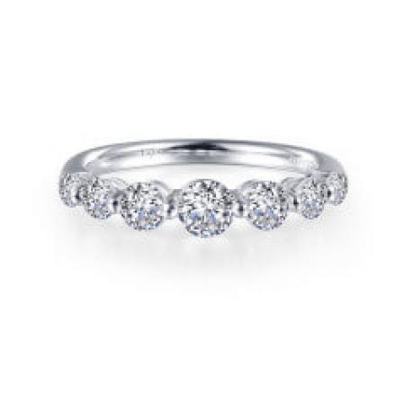 Lafonn 7 symbols of love simulated diamond ring