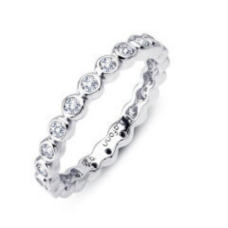 Lafonn .63ctw simulated diamond eternity band