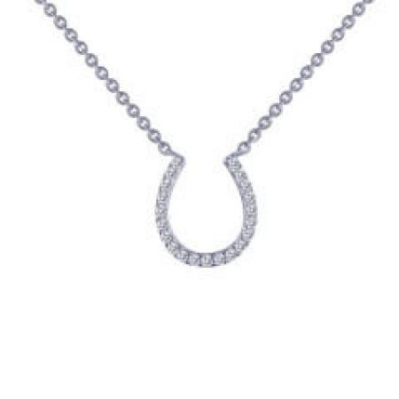Lafonn horseshoe necklace
