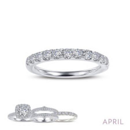 Lafonn Simulated Diamond Ring PLT
