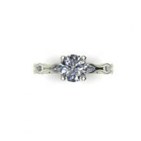 marquise bubble engagement ring (5)