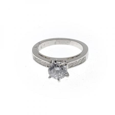 Cathedral Classic Diamond Engagement Ring