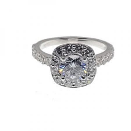 cathedral style engagment ring with cushion halo2 (2)