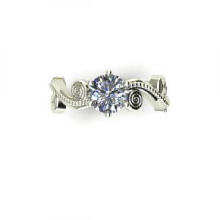 flower solitaire engagement ring (2)