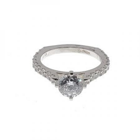 Diamond engagement ring with euro shank2 (2)